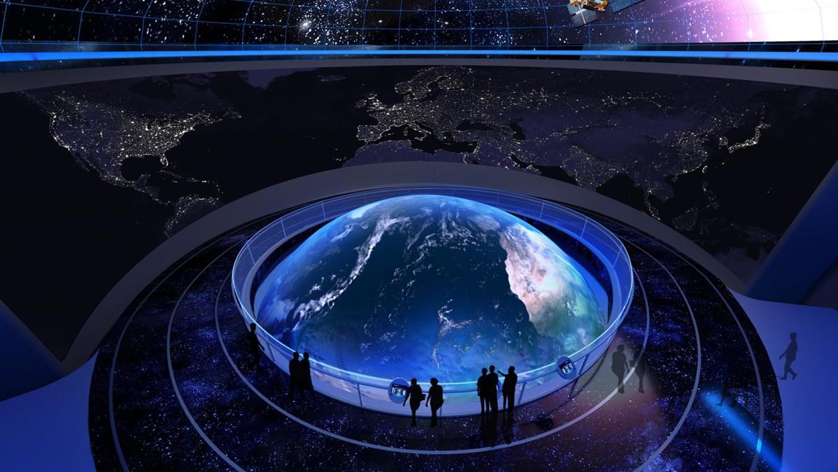 360°球幕影院