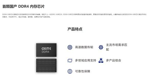 国产内存来了!长鑫官方开卖DDR4LPDDR4X内存