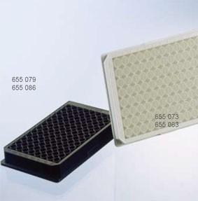 96细胞培养微孔板(黑/白)