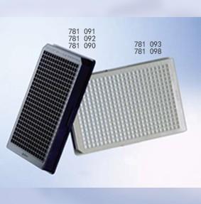 384孔细胞培养微孔板(μClear®底)