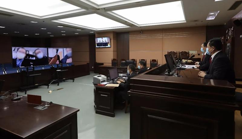 青岛中院远程和解一起涉防疫物资生产企业执行案件 司法保障企业安心生产
