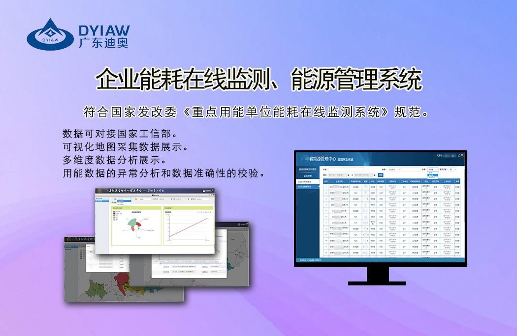 企业能耗在线监测、能源管理系统