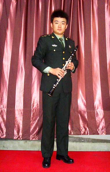 杨致恒 流行音乐系2008级单簧管专业毕业生