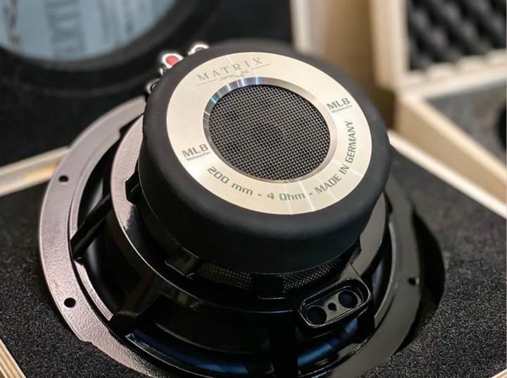 击中你内心深处的声音 德国BRAX MATRIX ML8 MID中低音喇叭
