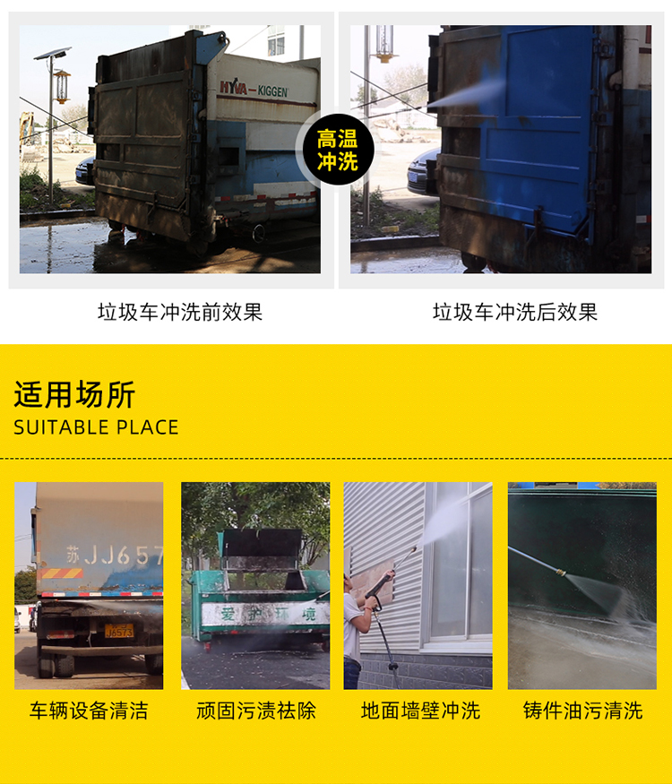 KQ-2015DH汽油動力熱水清洗機