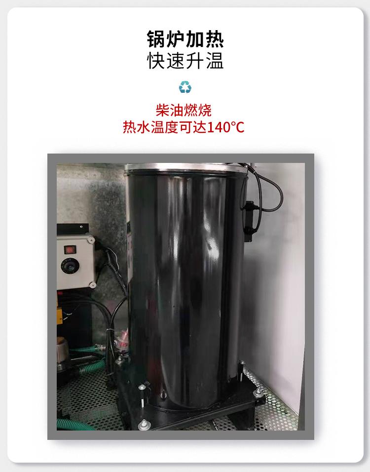 科球高壓熱水沖洗車