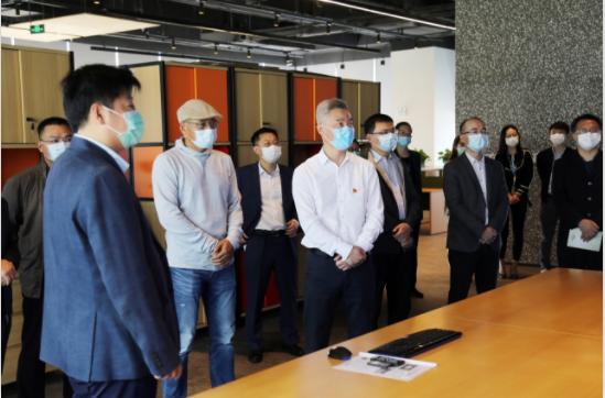 【战疫情 促生产】杨军区长莅临海格物流调研复工复产情况