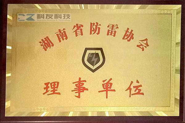 湖南省防雷協會理事單位
