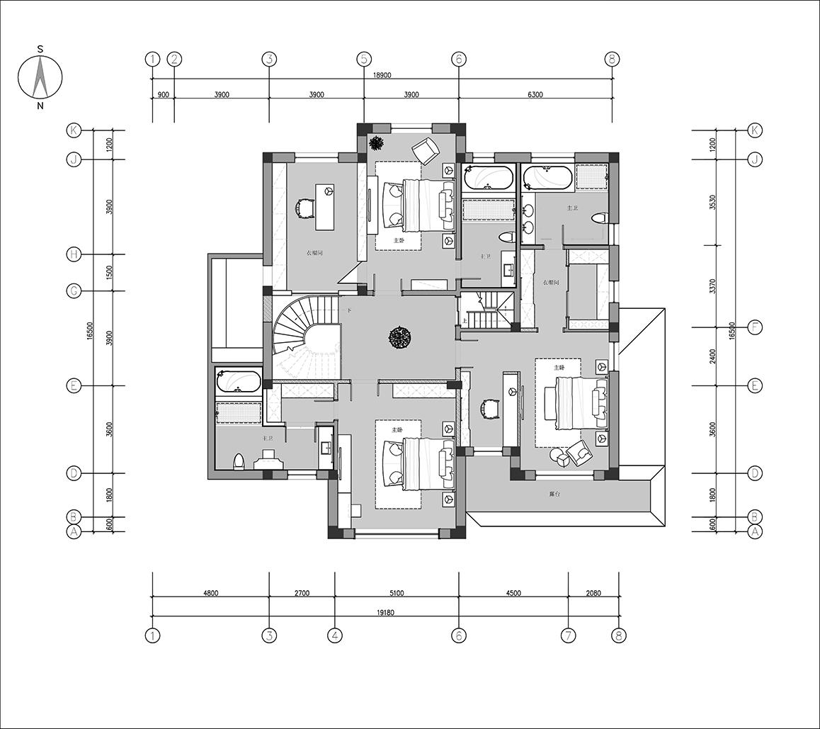 别墅设计-国宾一号