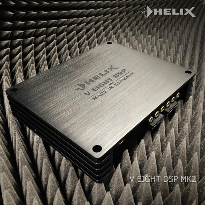 一代更比一代强:德国HELIX V EIGHT DSP MK2功放 惊艳出道