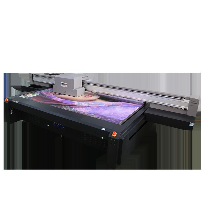 高精度、高速UV平板江苏快三走势图表跨度喷绘机