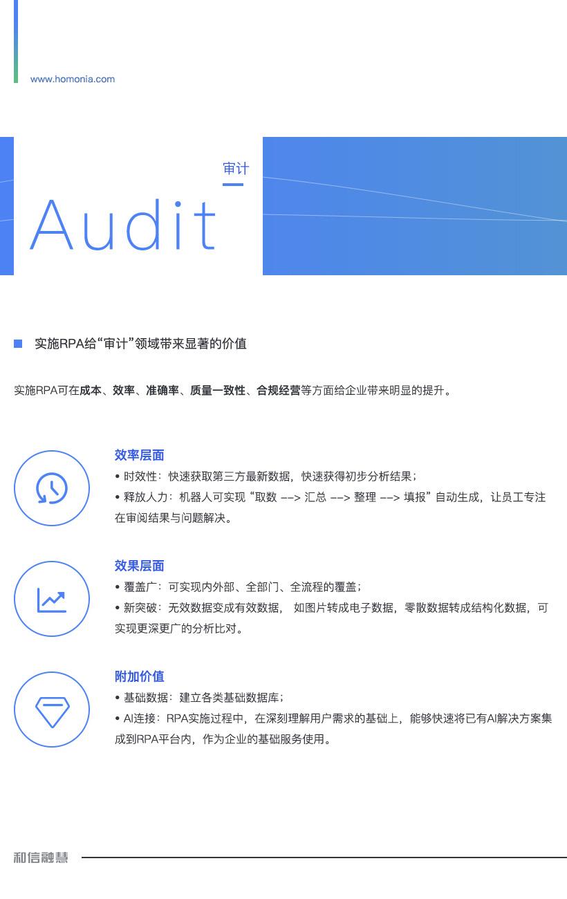 审计机器人-智慧审计解决方案