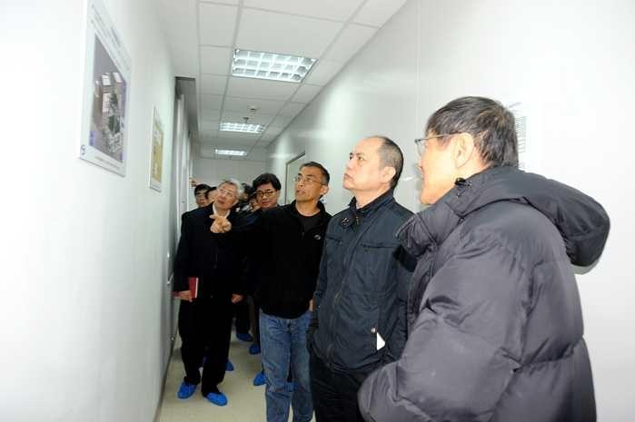 上海市政协姜樑副主席一行到睿励调研