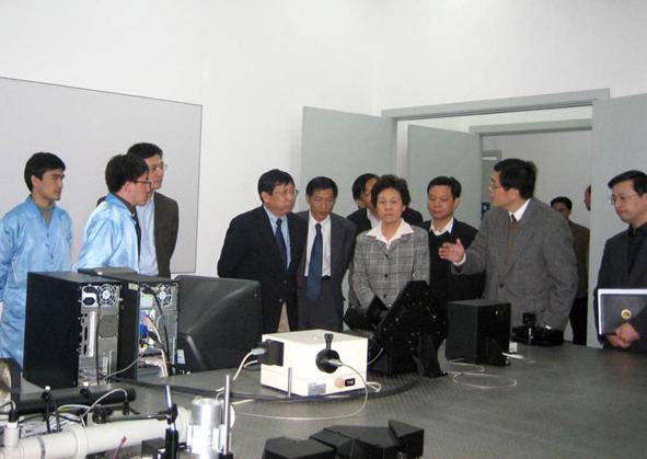 上海市领导严隽琪、杨雄等来公司调研