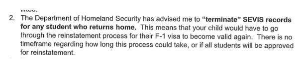 紧急!中国留学生应不应该回国?有学校通知回国会被取消签证