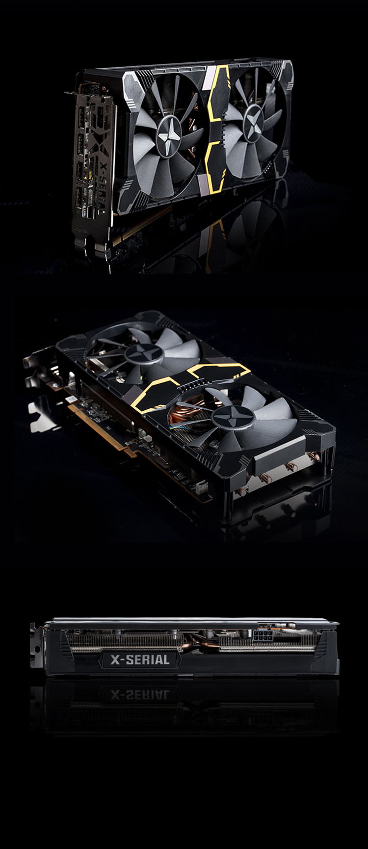 迪兰RX 5600 XT 8G X战将PLUS
