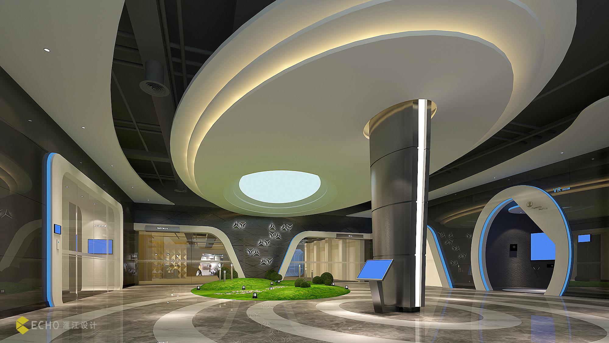 哪种企业展厅设计容易吸引消费者关注