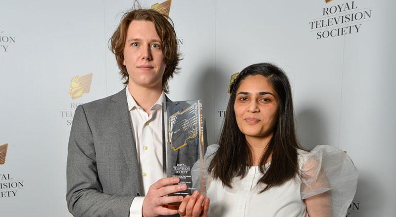 英国提赛德大学电视电影制作学生获得英国皇家电视协会大奖