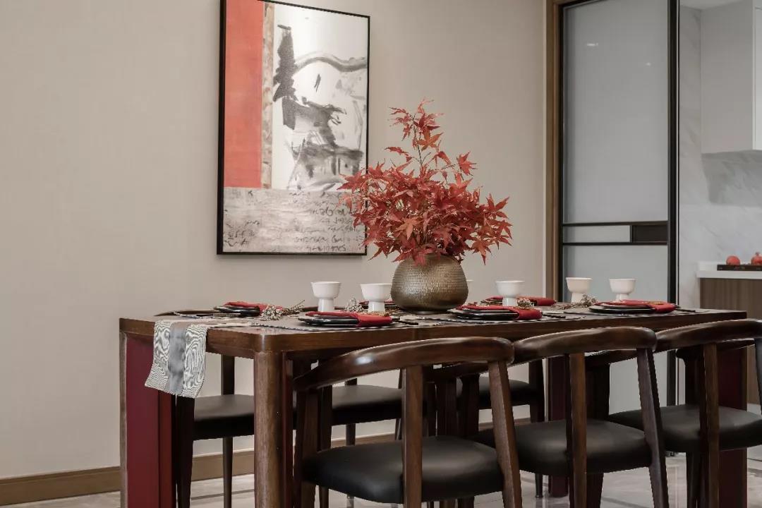 【英菲尔整木定制】135㎡轻奢新中式,完美诠释东方简洁极致美感!