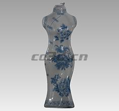 青花瓷花瓶三维扫描