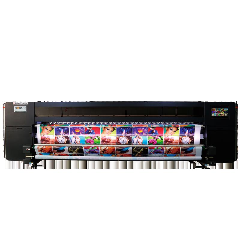 高精度、高速度宽幅UV喷绘机