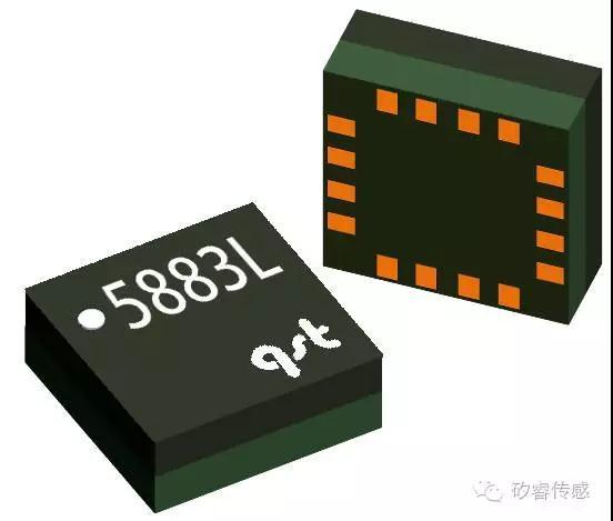 磁阻传感器QMC5883L