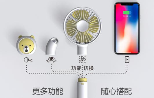 USBmini小风扇便携式,小巧,学生,办公