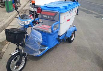 郑州清洁保洁车二七区交付完毕