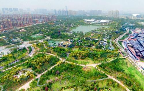 """园博园雨水收集巧利用 成为""""海绵城市""""建设典范"""