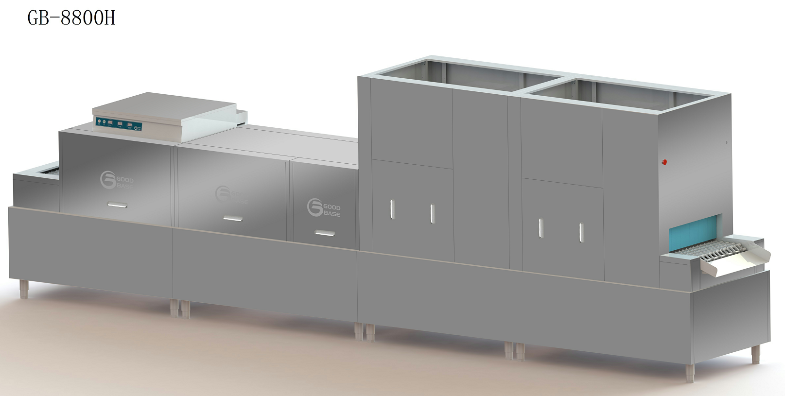 GB-8800H商用洗碗机