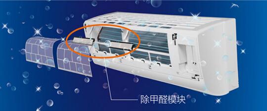 海尔劲风除甲醛无氟变频挂壁式空调