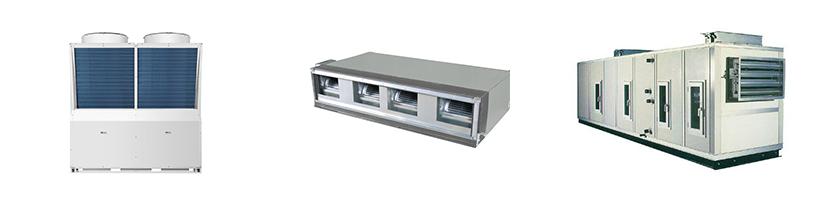 海尔模块式风冷冷水(热泵)机组+海尔风机盘管+海尔空调箱