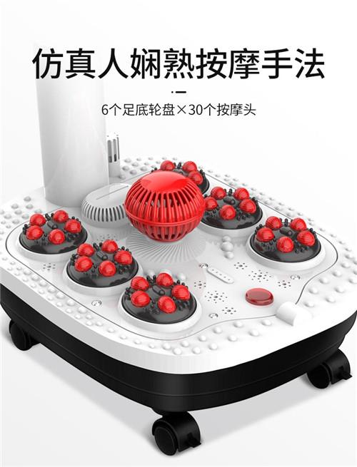 茗振泡脚桶电动按摩器全自动加热足浴盆