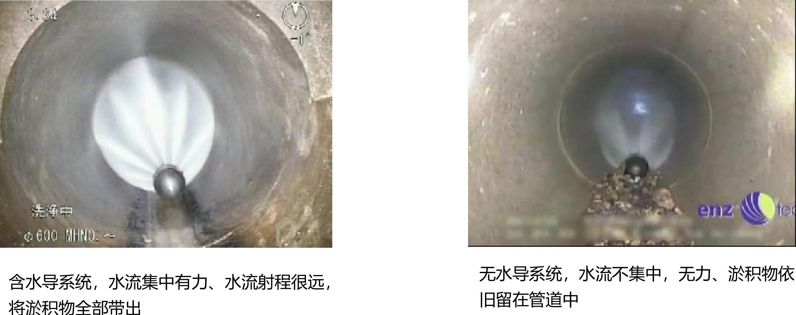 喷头在管道预处理中的应用