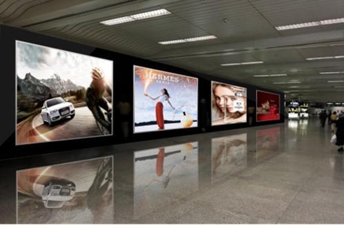 機場豎屏媒體