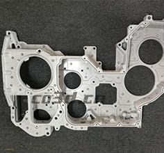 3D inspection of automobile cylinder head