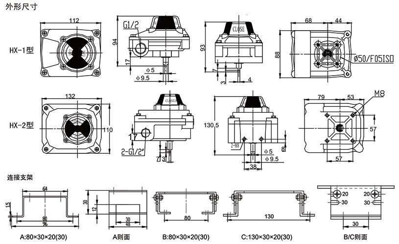 HX-1/HX-2型 回讯器