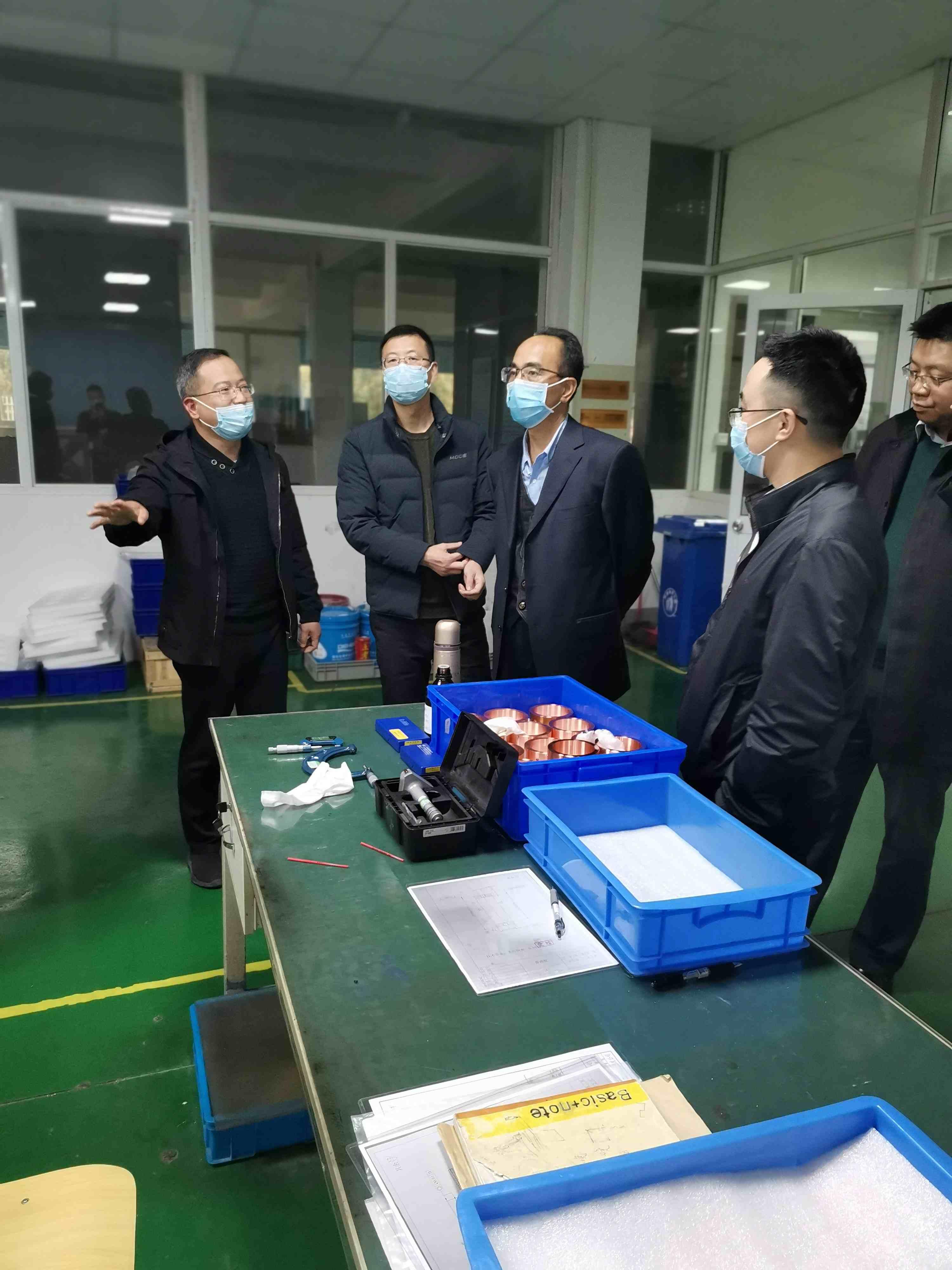 集团副总经理胡刚一行赴中广核技调研交流