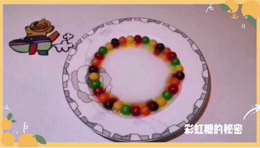 这部让人看了流口水的flash宣传动画制作,竟是用彩虹糖做的!