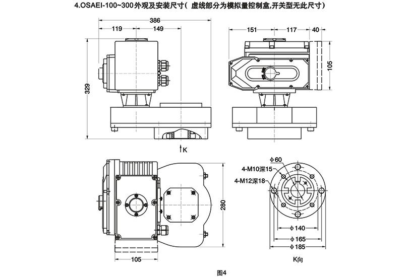 OSAEI电动执行器