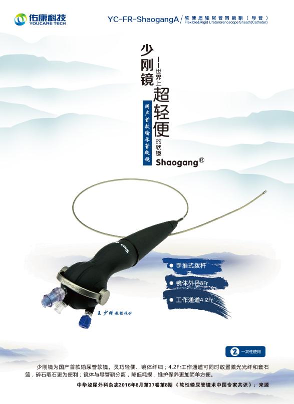 軟硬質輸尿管腎鏡鞘(導管)YC-FR-shaogang A