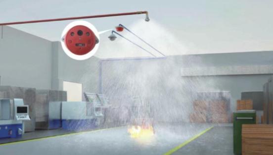 智能自动消防喷淋