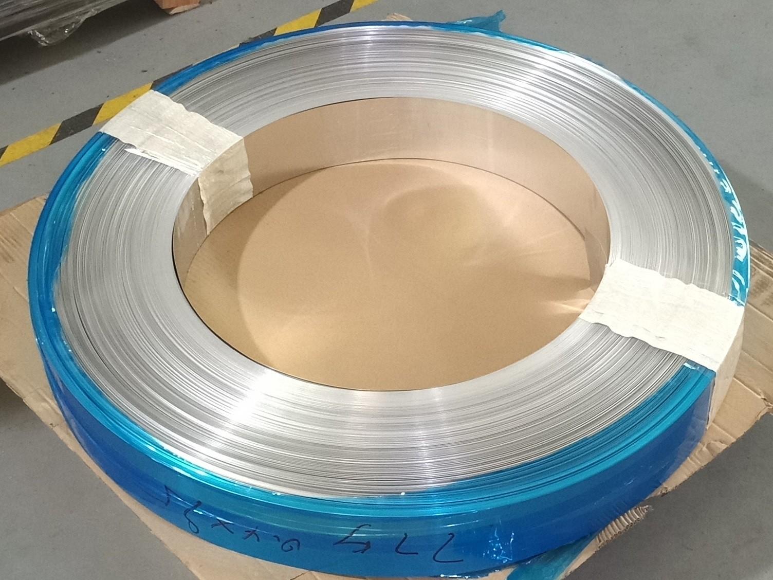 0.4mm厚度热熔胶背胶铝带