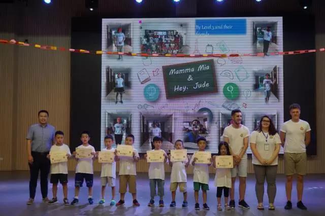 毕营才艺表演 | 成都王府外国语学校举行第一期外教公益夏令营毕营仪式