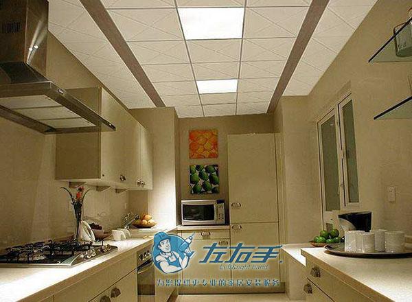 定制厨房吊顶安装效果图