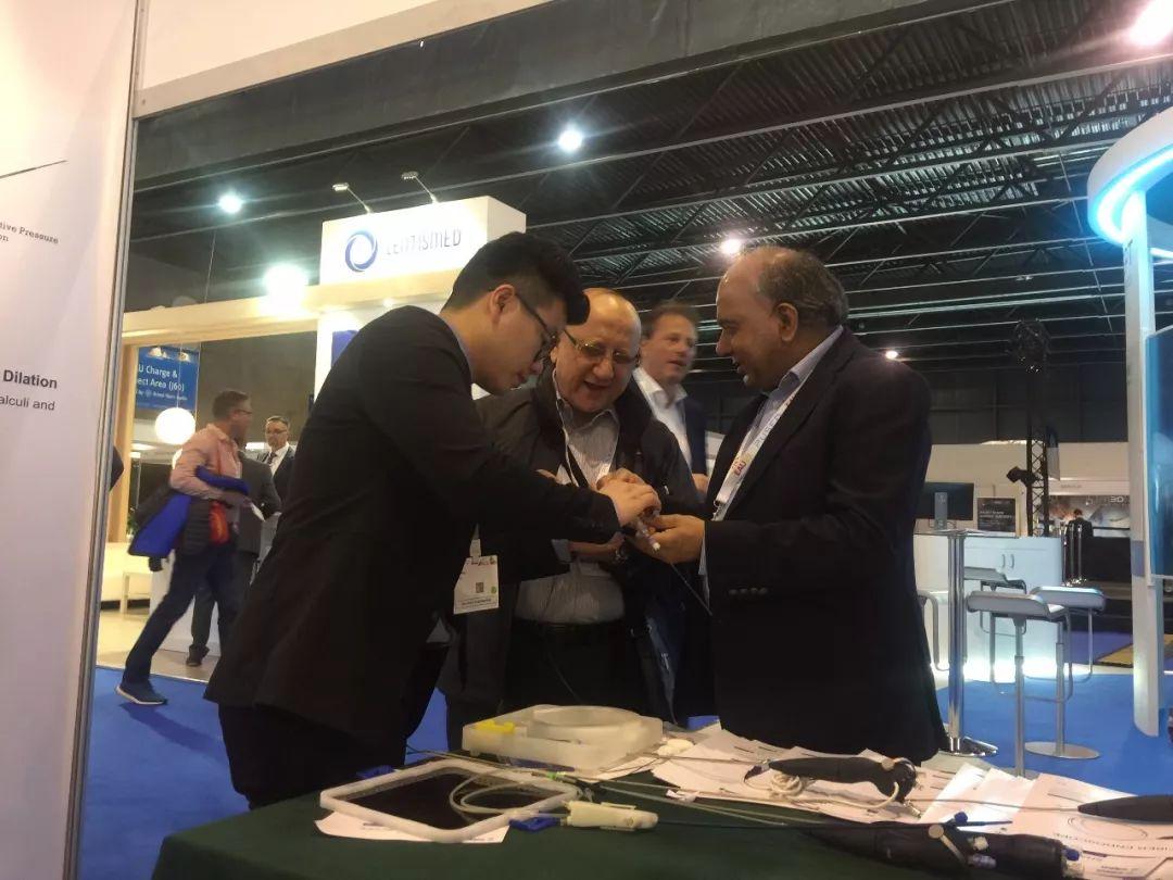蕓聚中國醫生智慧的新技術新產品亮相EAU2019