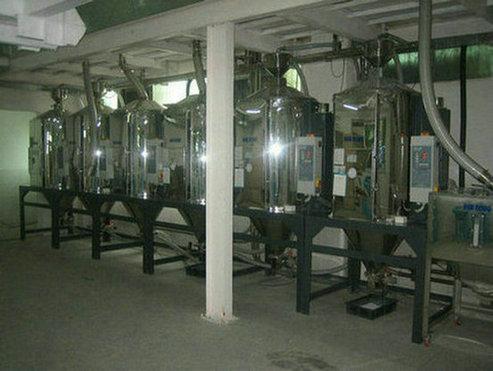 中央供料-干燥机组