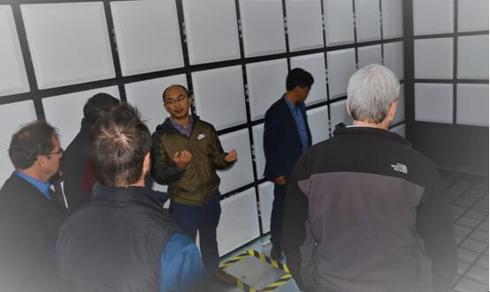 Ford汽车EMC核心团队来访,容测有望在近期获得ford在EMC检测的全面认可