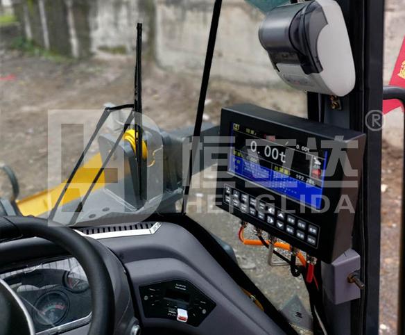 装载机电子秤|装载机秤|铲车秤|铲车电子秤的安装步骤