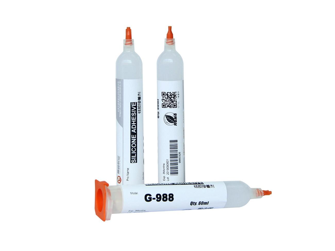 硅胶粘PP塑料-耐高温型-988